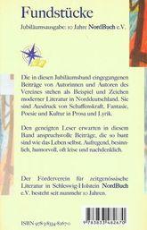 Anthologie Fundstücke - 2007 - Rückseite
